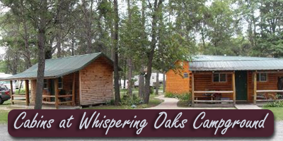 Cabins at Whispering Oaks Campground